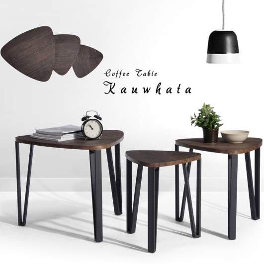 living room side table, side table set, nesting tables