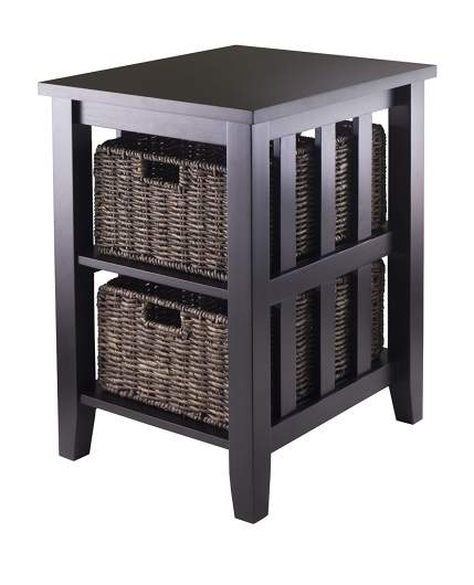 living room side table, end table, side table with storage