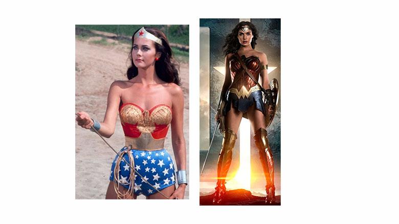 Lynda Carter Wonder Woman, Gal Gadot wonder woman