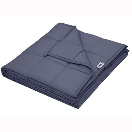 gray queen size weighted blanket