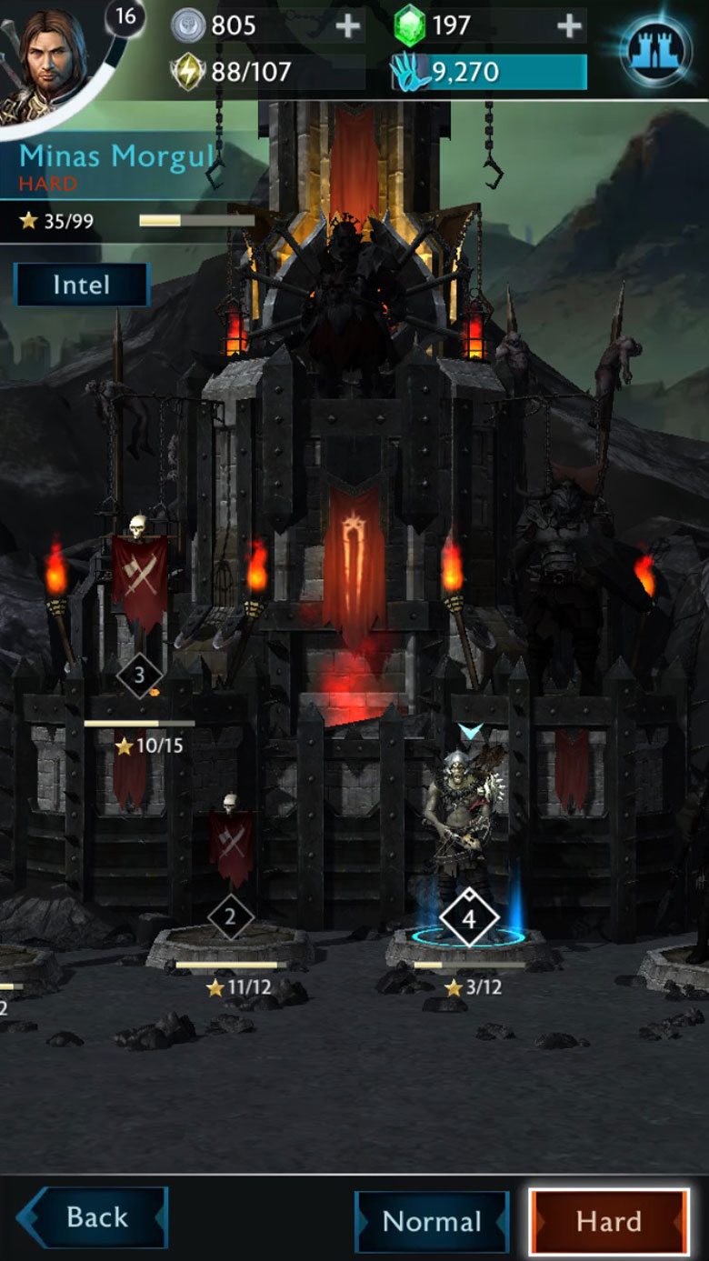 Middle earth Shadow of War Mobile