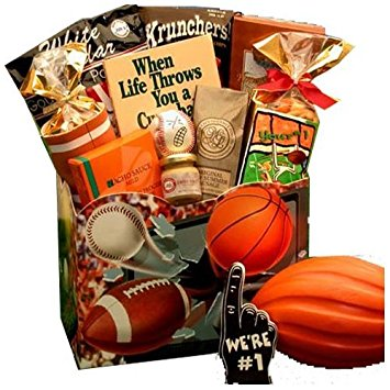 All Star Sports Themed Gourmet Gift Box