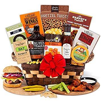 Barbecue Enthusiast Gift Basket by GourmetGiftBaskets.com