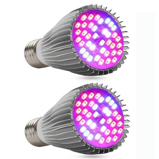 EnerEco SMD LED Grow Light Bulb 2-Pack