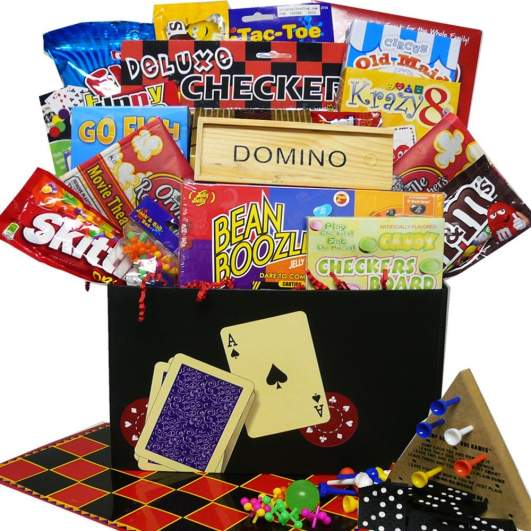 Fun and Games Care Package By Art of Appreciation Gift Baskets