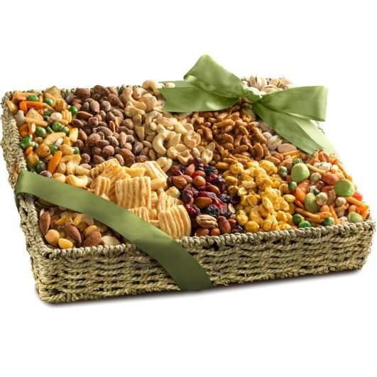 Savory Snacks Gift Basket by Golden State Fruit