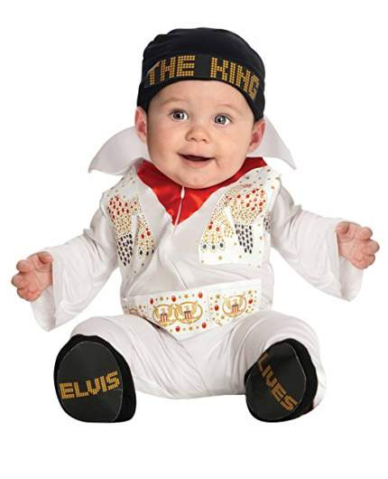 last minute baby costume elvis halloween