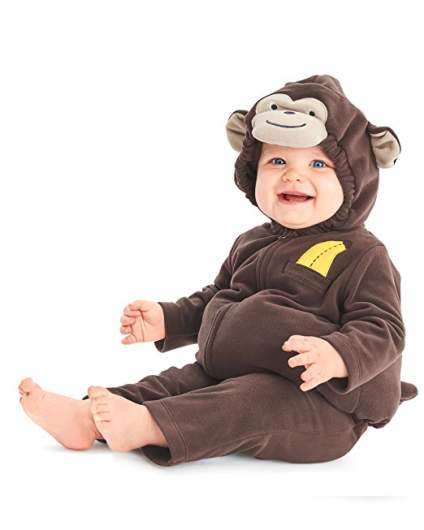 carters monkey costume last minute baby halloween