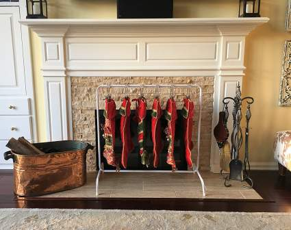 Christmas stocking holders, Christmas stocking, stocking holders, stocking hangers, stocking holders for mantle, stocking holder stand