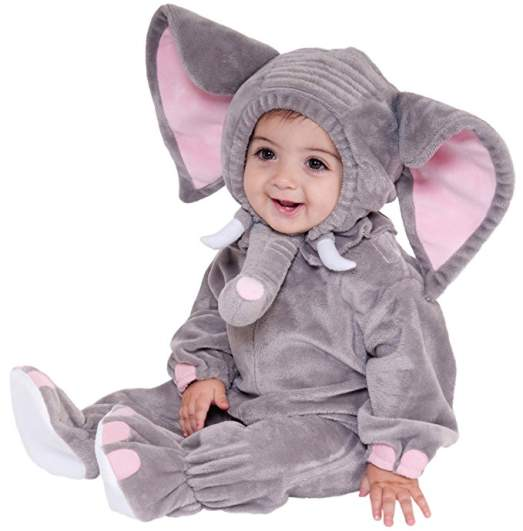 elephant last minute baby halloween costume 2017
