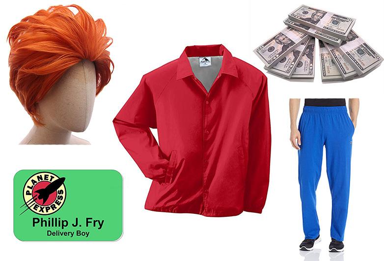 Philip J Fry costume