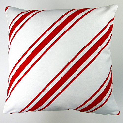 christmas candy cane decorations, candy cane pillow