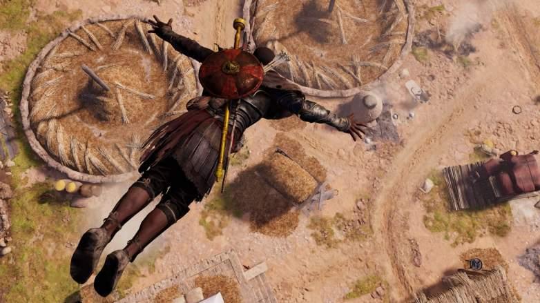 assassins creed origins, assassins creed origins photo mode, assassins creed origins leap of faith