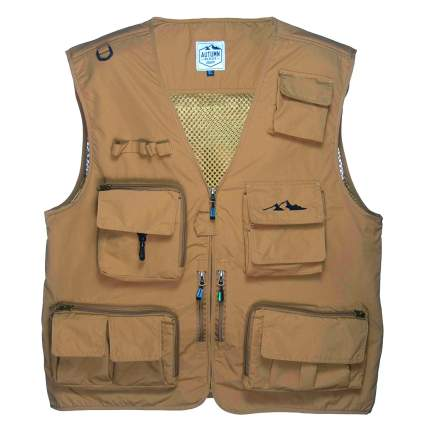 autumn ridge traders, fly fishing, fly fishing vest