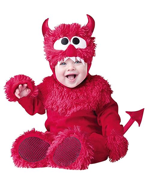devil, baby, toddler, costume
