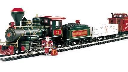 bachman train christmas tree