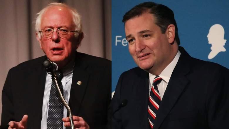 Bernie Sanders vs. Ted Cruz tax debate live stream
