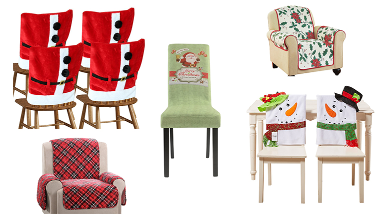 Top 10 Best Christmas Chair Covers 2017 Heavy Com