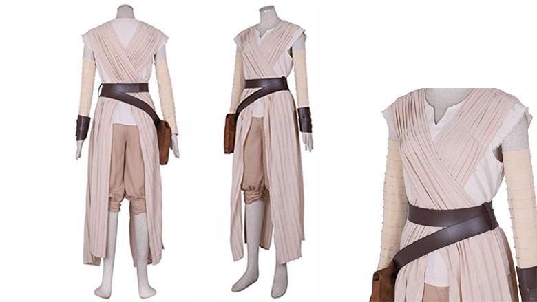 CG Costume Womens rey fancy cosplay costume, Rey cosplay costume, rey cosplay, rey star wars costume, rey last Jedi costume