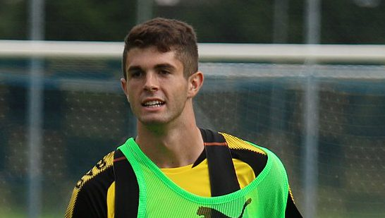 Young US Star Christian Pulisic