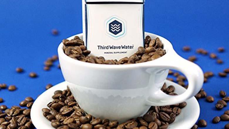 coffee water shark tank, water wave shark tank