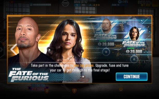 csr racing 2 fate of the furious