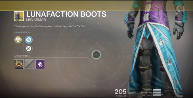 Destiny 2 Boots