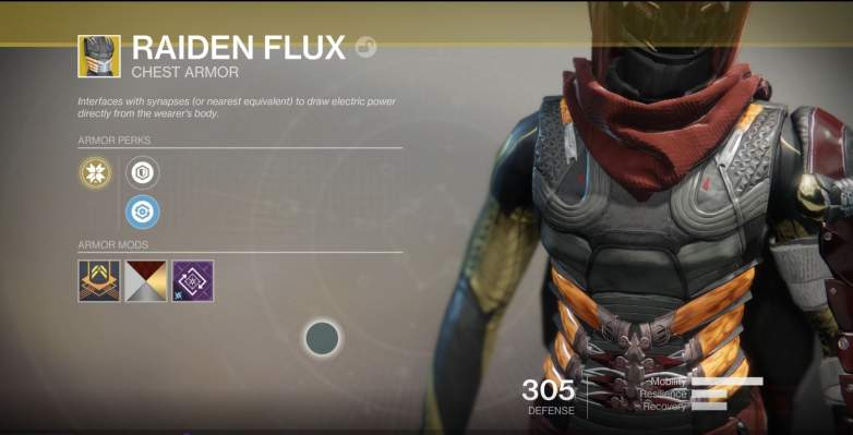 Destiny 2 Raiden Flux
