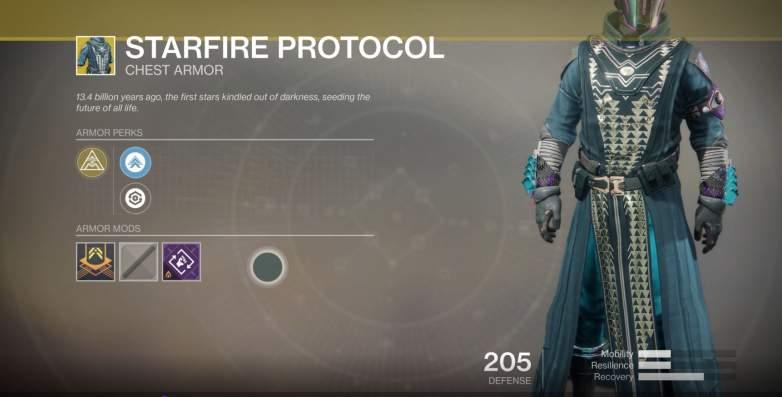 Destiny 2 Starfire Protocol