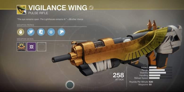 Destiny 2 Vigilance Wing