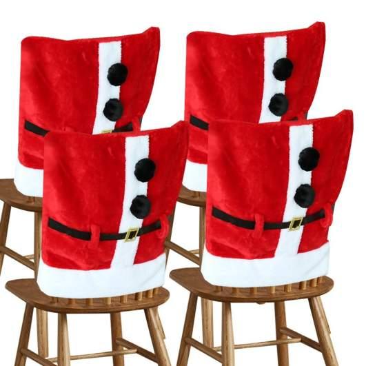 christmas chair cover, santa chair covers
