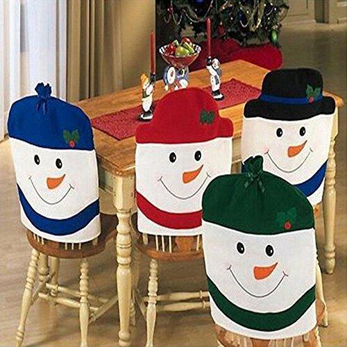 christmas chair cover, snowman chair cover