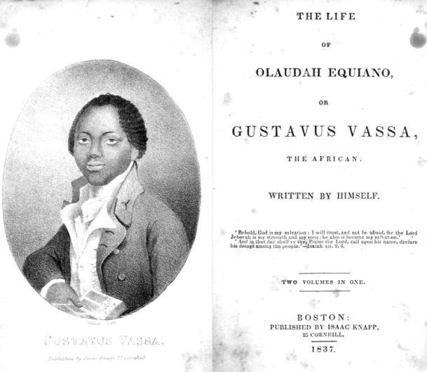Olaudah Equiano.
