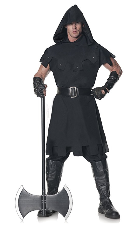 renaissance costume, medieval costume, executioner