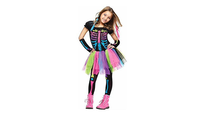 halloween costumes for girls, costumes for girls, costumes for kids, halloween costumes for kids, Halloween costume ideas for girls, little girl halloween costumes, little girl costumes, skeleton costume
