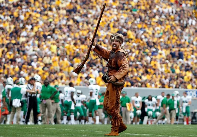 West Virginia Mountaineer, West Virginia Mascot, Mascot Arrested, West Virginia Mascot Arrest