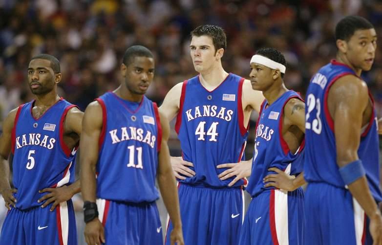 David Padgett, David Padgett Kansas, David Padgett Basketball