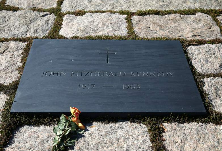 jfk grave, kennedy grave