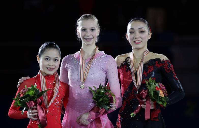 Polina Edmunds, Polina Edmunds Olympics, Olympics figure skating