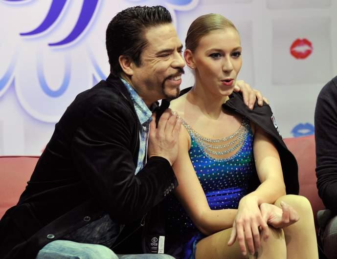 Polina Edmunds, Polina Edmunds Olympics, Olympics figure skating, Rudy Galindo