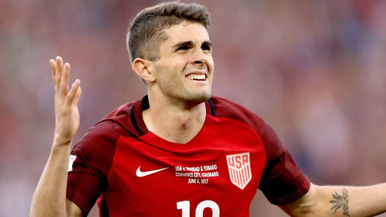 christian pulisic, usmnt, usa soccer, qualifying, world cup, russia