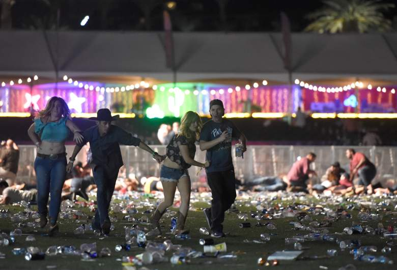 Las Vegas crime scene