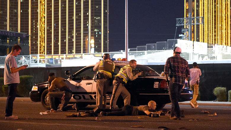 Las Vegas crime scene photos