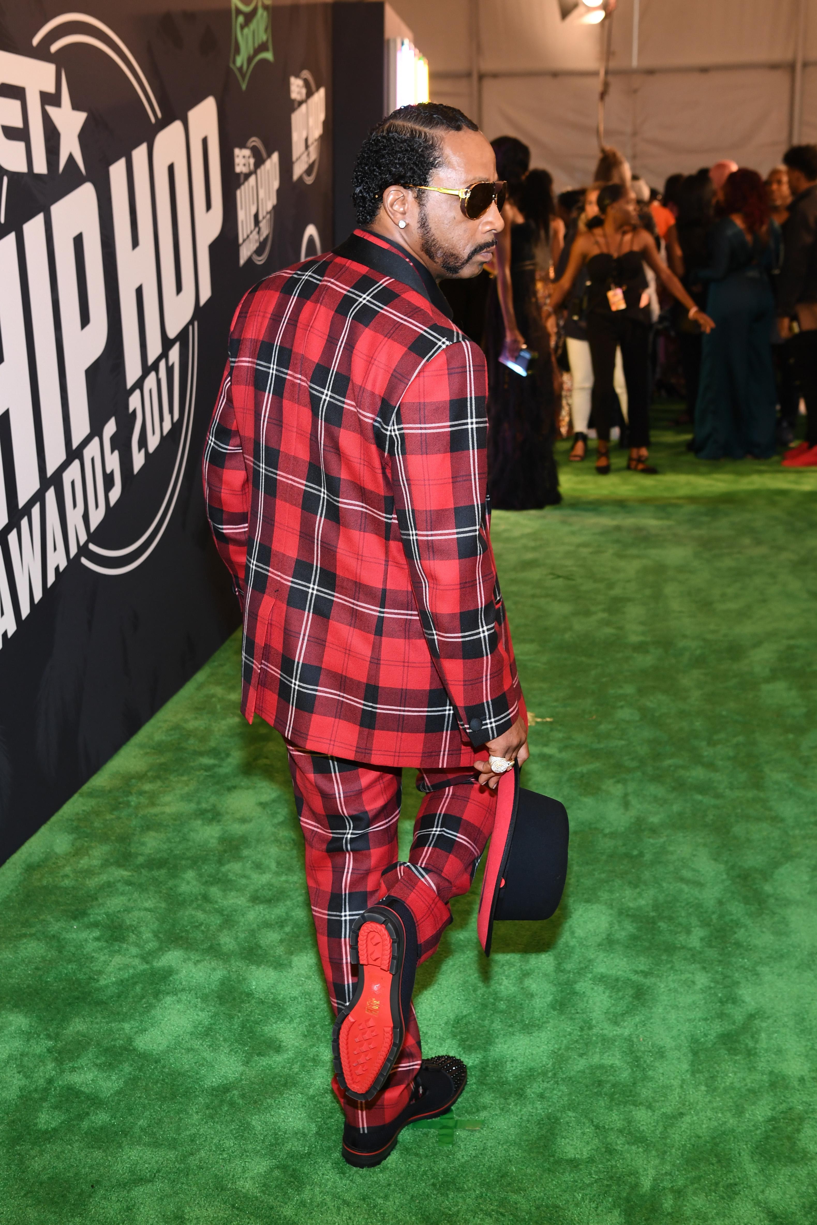 BET hip hop awards red carpet photos, pics of dj khaled on red carpet at the bet awards