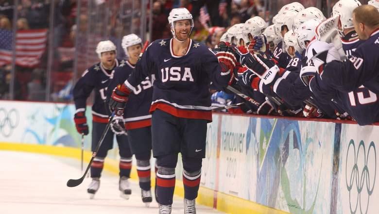 Ryan Malone, 2018 Olympics, Team USA men's ice hockey, hockey roster Olympics, eligible Olympic hockey players