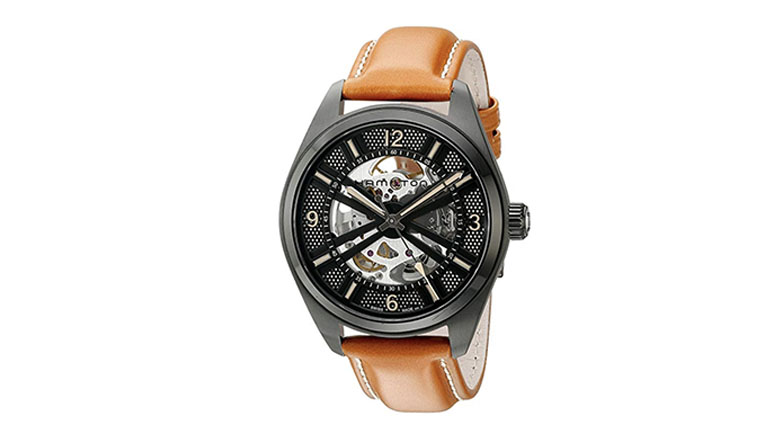 hamilton mens khaki field display automatic watch