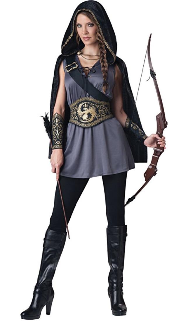 renaissance costume, medieval costume, huntress