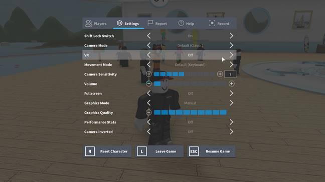 Roblox VR, roblox oculus, roblox vive