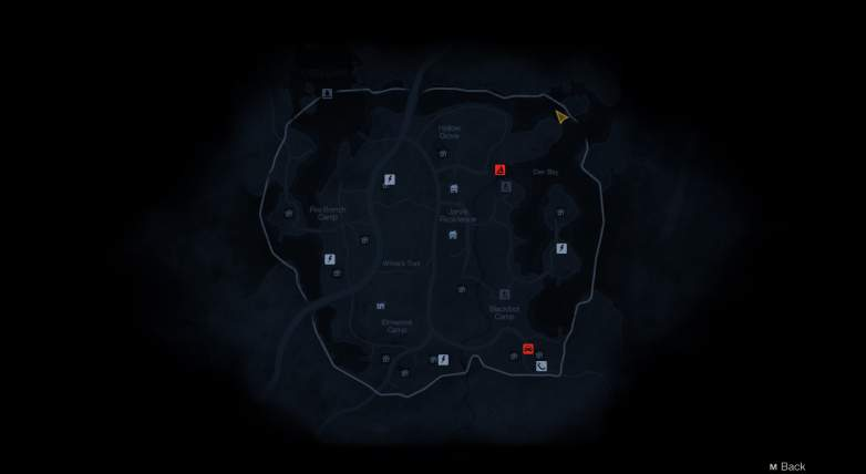 friday the 13th the game jarvis house map, friday the 13th jarvis house map