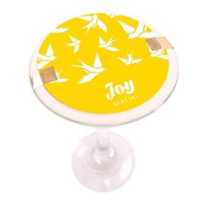 joy martini candle